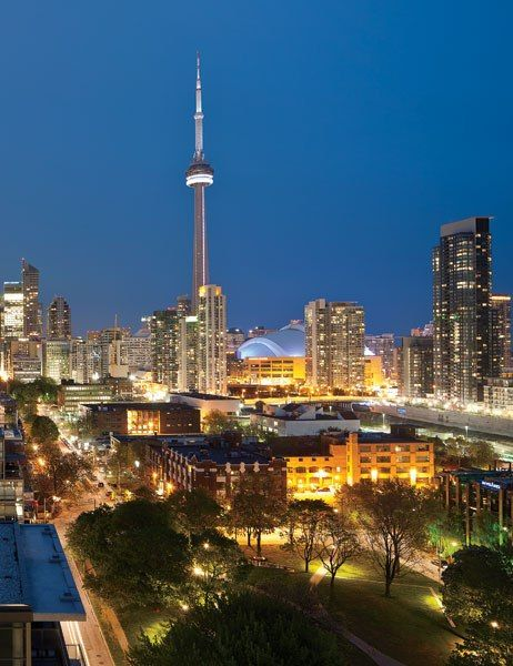 The Architectural Digest guide to Canada's Largest City #Toronto