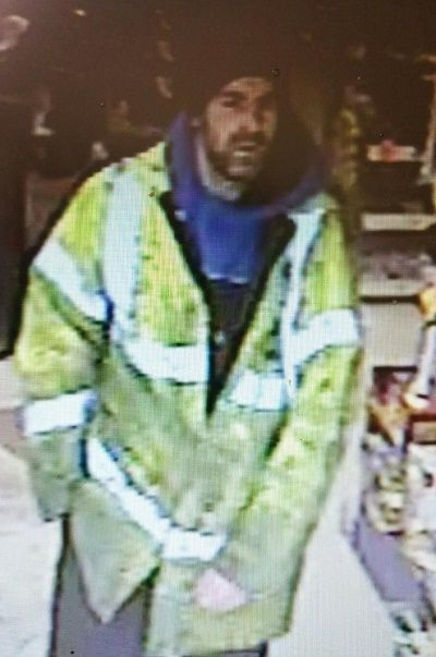 Police probe Workington theft http://www.cumbriacrack.com/wp-content/uploads/2016/12/CCTV-Workington-Thomas-Armstrong-Plant.jpg Cumbria Police are keen to speak to this person in connection with an incident of theft in Workington on Thursday 24th November. A Makita Jigsaw, worth £200, was stolen from Thomas Armstrong Plant    http://www.cumbriacrack.com/2016/12/28/police-probe-workington-theft/