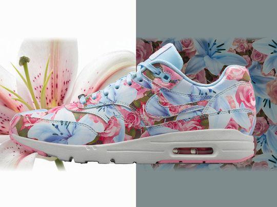 Nike : des baskets fleuries et colorées pour la Journée de la Femme