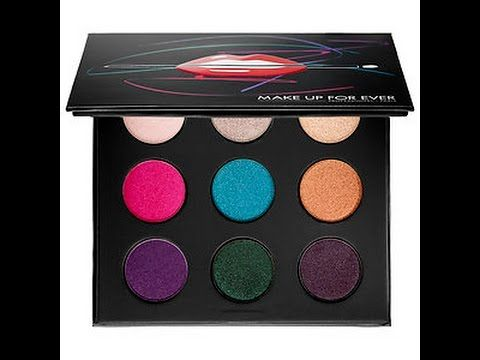 Make Up For Ever Artist Palette Vol. 2 Review and Swatches