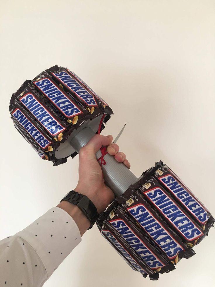Candy Hantel #candy #hantel #originalgiftideas – Sylvia Kutsch