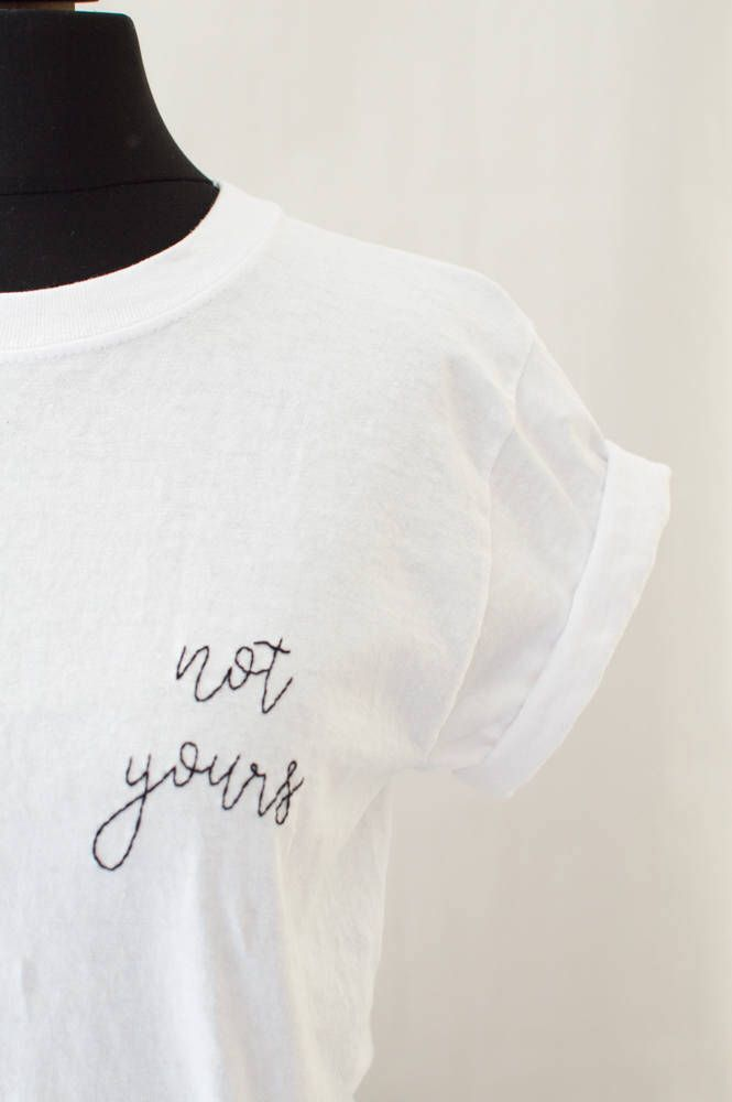 Womens Tumblr Tee Medium | Feminist Shirt, 90s Grunge, Girl Power Shirt, Nasty Women Shirt , Pastel Grunge Shirt, Teen Gift, Hand Embroidery by DeadbeatDreams on Etsy https://www.etsy.com/uk/listing/521177362/womens-tumblr-tee-medium-feminist-shirt