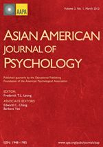 Asian journal of psychology