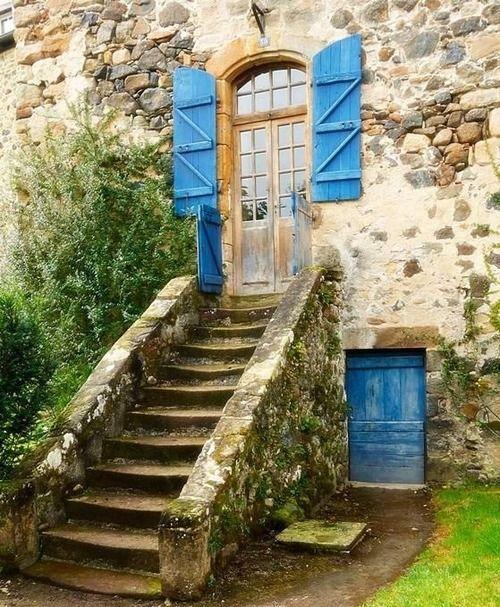 Fransa ~ mavi panjurlar