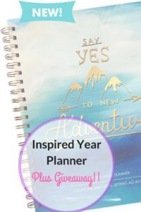 Inspired Year PLanner