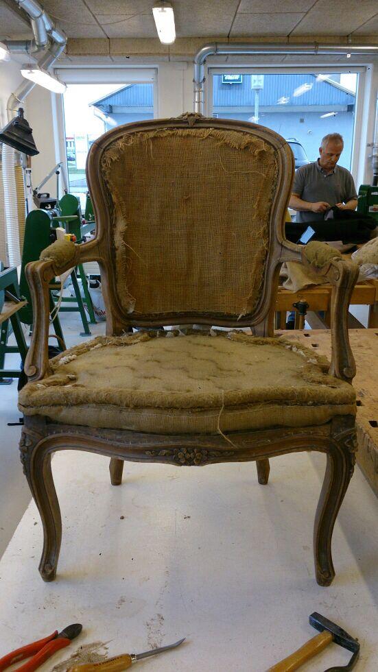Gudruns stol - før