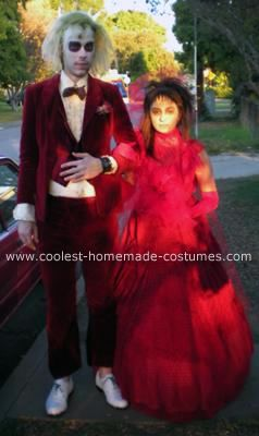 31 best coolest diy beetlejuice costumes images on pinterest cool homemade beetlejuice and lydia couple costumes solutioingenieria Gallery