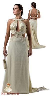 Греческое платье, модель 079