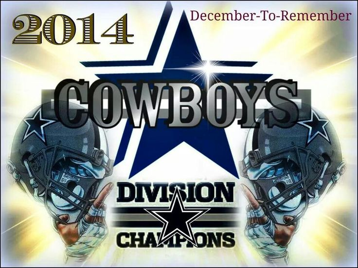 Dallas Cowboys NFC East Champions. A December to Remember!