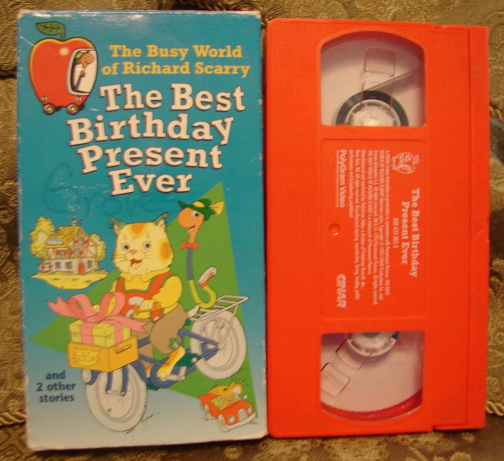 Richard Scarry's The Best Birthday Present Ever Busy World