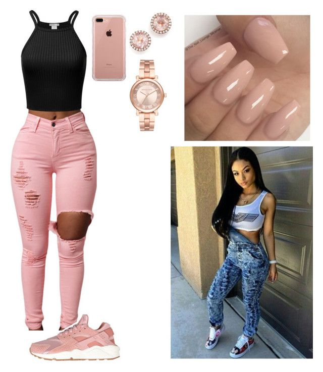 """""""Untitled #471"""" by queen-ayanna on Polyvore featuring NIKE, Belkin, Dana Rebecca Designs and Michael Kors"""