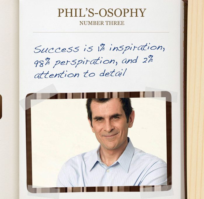 Phil's-osophy # 1 (With images) | Modern family quotes ...