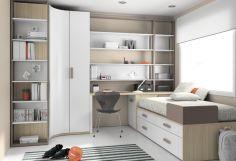 Dormitorio infantil juvenil moderno, 43-31