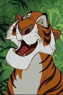 "Shere Khan: Idris Elba in Disney's The Jungle Book, Benedict Cumberbatch in Warner Bros. The Jungle Book: Origins | How To Tell The Two ""Jungle Book"" Movies Apart"