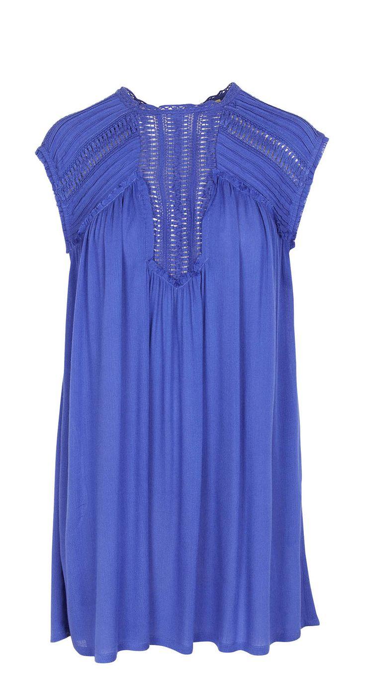 Electric blue dress THEKorner
