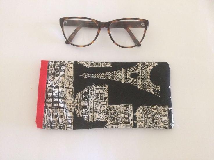 Handmade Glasses Case Eiffel Tower And French Landmark Buildings