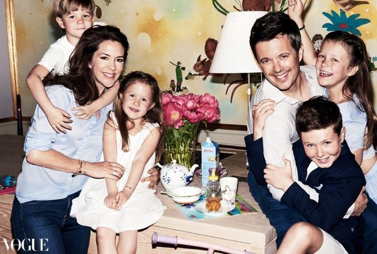 Royals & Fashion: Frederik & Mary en une du Vogue Australie