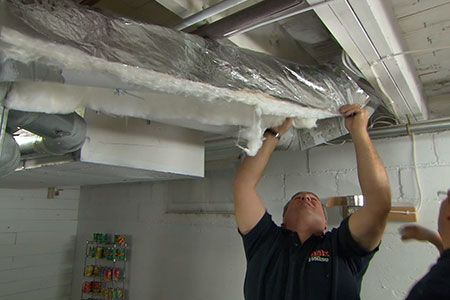 with This Old House plumbing and heating expert Richard Trethewey | thisoldhouse.com | from How to Insulate Ductwork