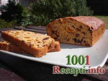 Рецепт-Постный пирог с сухофруктами | Постные блюда