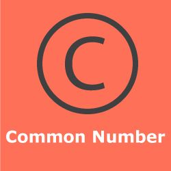 Common Numbers on TeerCounter.com