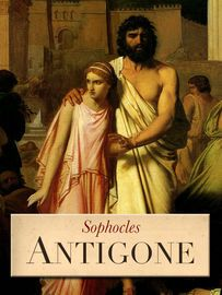 Antigone   http://paperloveanddreams.com/book/545560646/antigone   Antigone, daughter of Oedipus, the late king of Thebes, in defiance of Creon who rules in his stead, resolves to bury her brother Polyneices, slain in his attack on Thebes. She is caught in the act by Creon's watchmen and brought before the king. She justifies her action, asserting that she was bound to obey the eternal laws of right and wrong in spite of any human ordinance. Creon, unrelenting, condemns her to be immured in…