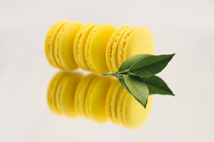 Lemon macarons - Boheme delices francaises