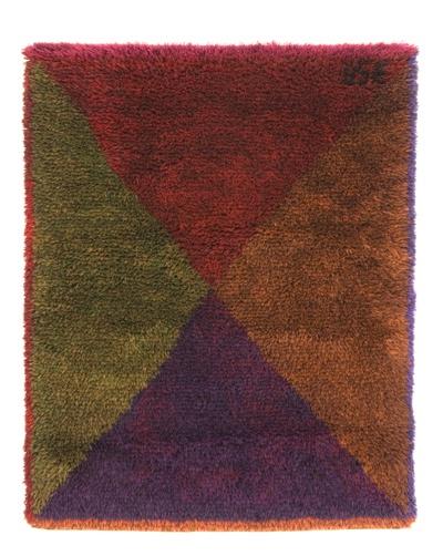 Neljä Väriä (Four Colours) by Uhra Simberg-Ehrström, 1956 Wall