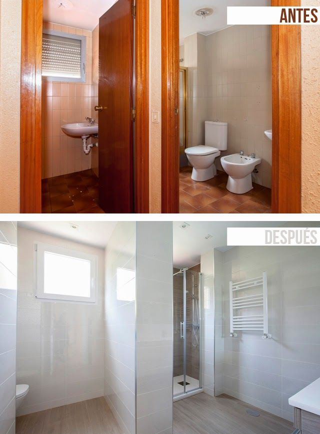 Decoraci n de interiores antes y despu s reforma integral - Reforma piso pequeno antes y despues ...