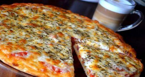 Pizza pripravená za 20 minút len z 3-och ingrediencií! Použijete len to, čo máte radi! Famózne!