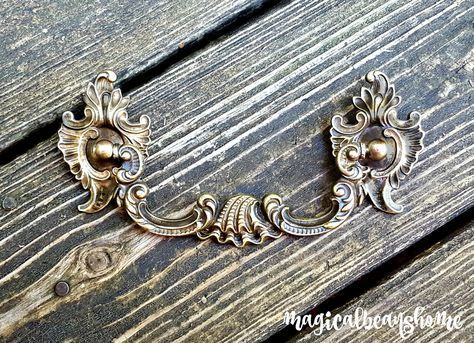 NEW! Keeler Brass Co Victorian Baroque Drop Bail Pulls by www.MagicalBeansHome.com & MagicalBeansHome  Etsy  http://etsy.me/2qWLyus #vintage