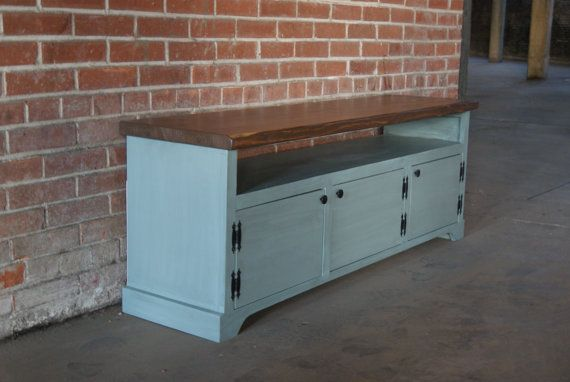 TV Stand / Media Console / Media Cabinet / Rustic by FurnitureFarm, $399.00