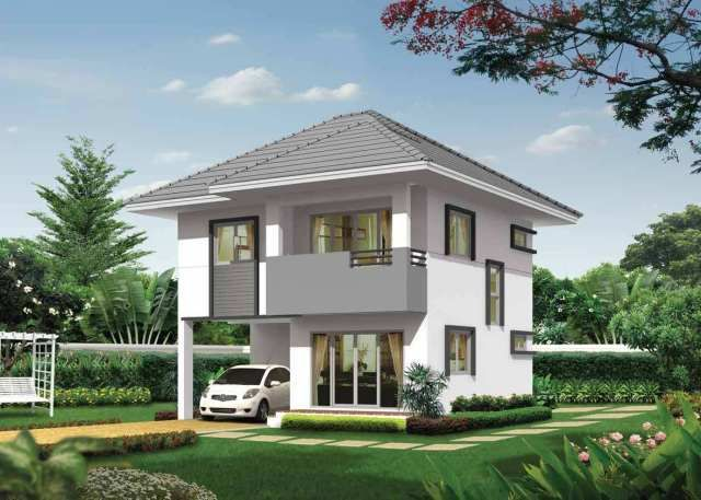 House Design Plans 8x10 5m With 3 Bedrooms Home Ideassearch Home Design Plans House Design House