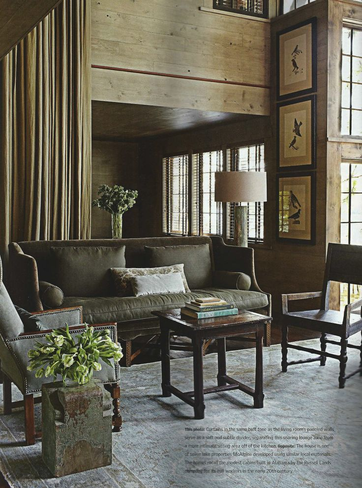 lake living room by mcalpine tankersley