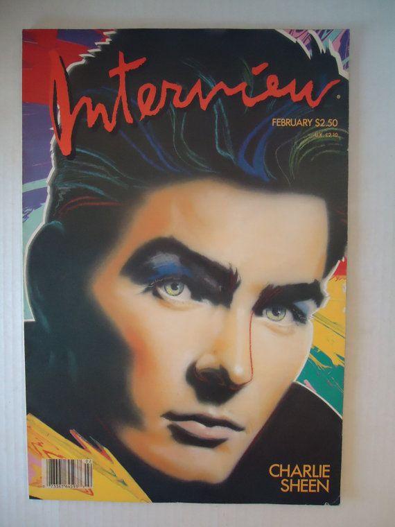 Vintage Andy Warhol Interview Magazine by Sarasvintageattic
