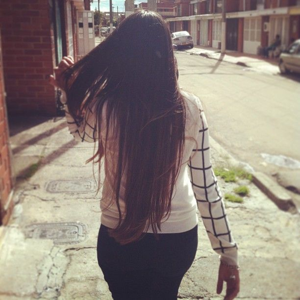 Long hair, no care.
