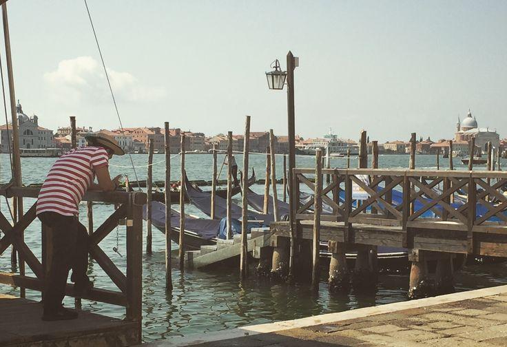 La solitudine do gondoliere,Venezia,Italia