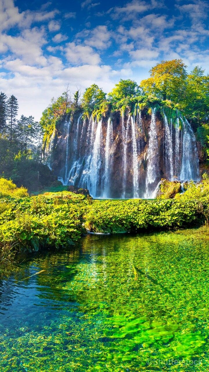Waterfall Beautiful Nature Scenery Beautiful Waterfalls
