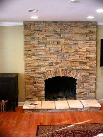 Stone Built Fireplaces 16 best stone fireplaces images on pinterest | stone fireplaces