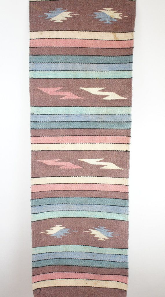 southwestern table runner wall decor by skyparlor on Etsy, $40.00