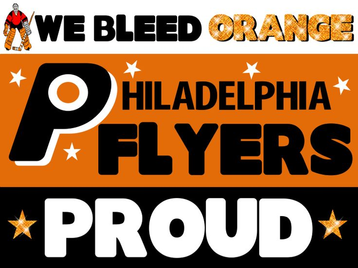 Philadelphia Flyers Poster Idea