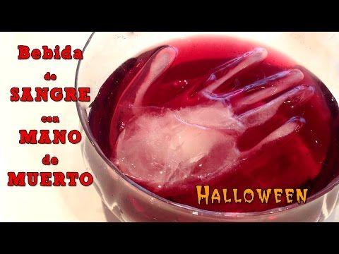 Recetas de halloween: Ponche de sangre con mano de muerto | ¡Hoy no hay cole!