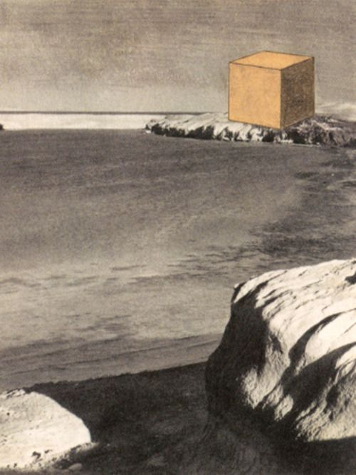 Robert Smithson, Proposal for a Monument on the Red Sea, 1966