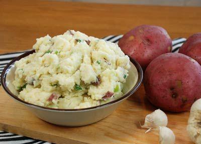 Tops Friendly Markets - Recipe: Garlic Mashed Potatoes with Parmesan