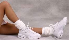slouch socks! hahahahaha!
