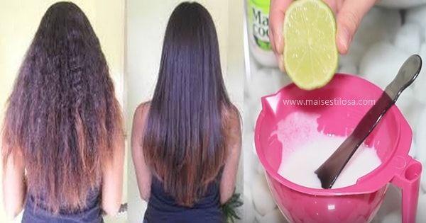 Com esta receita de alisamento natural com leite de coco e limão você vai ter cabelos com o volume reduzido, utilizando ingredientes da sua cozinha.