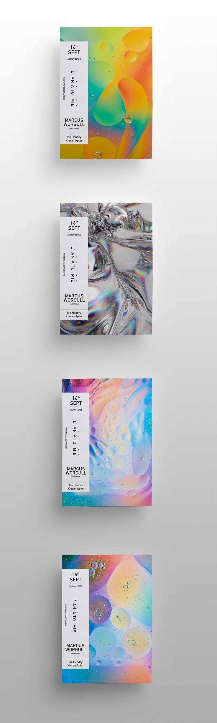 Poster design reference - Gallery Print Design Inspiration