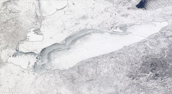 Great Lakes Ice Coverage Tops 80 Percent in Consecutive Years For First Time Since 1970s - weather.com