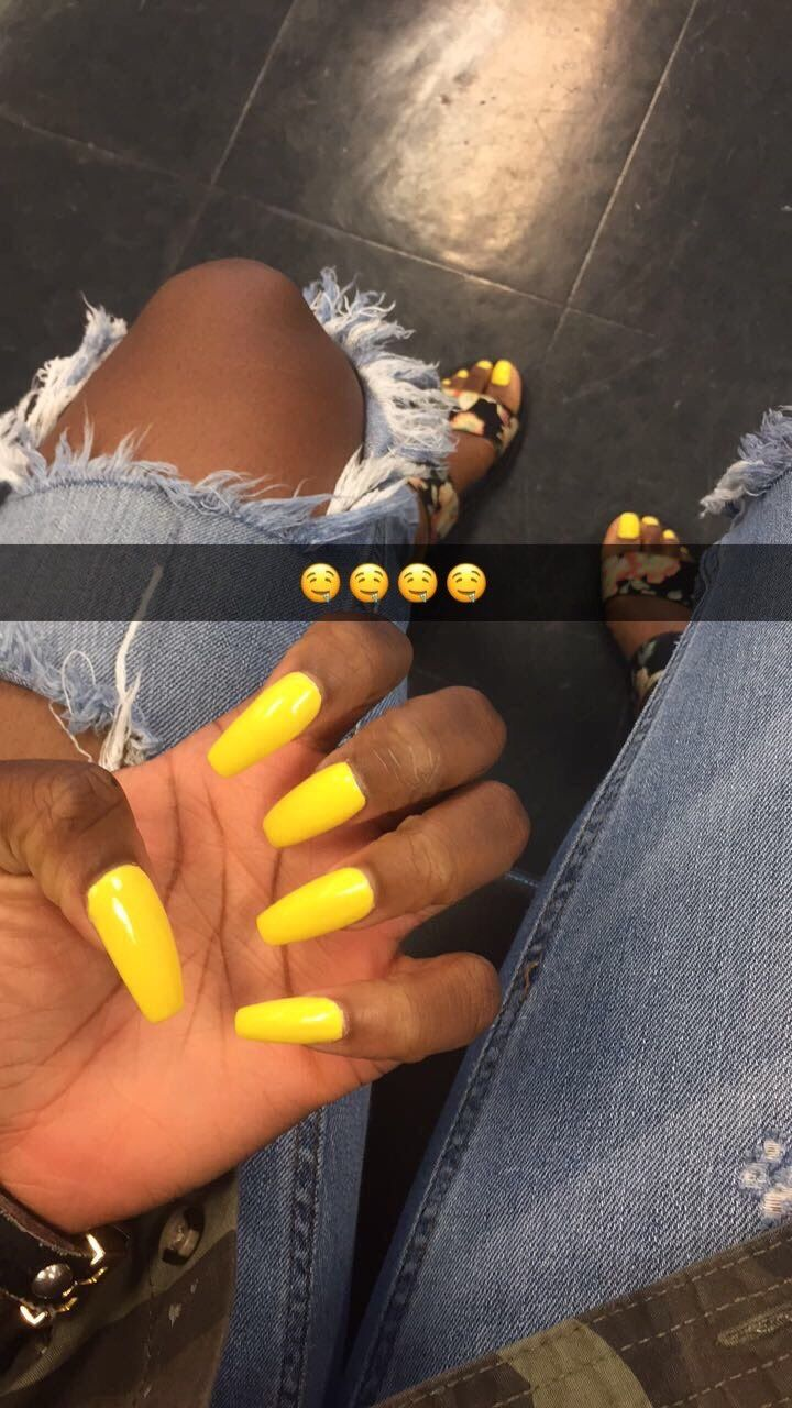Pin By Style And Trends On Just Beautiful Yellow Nails