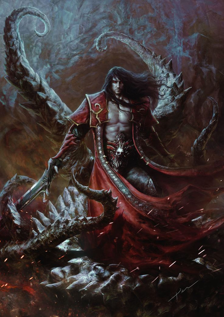 Castlevania Lords of Shadow 2 Dracul by pencracker