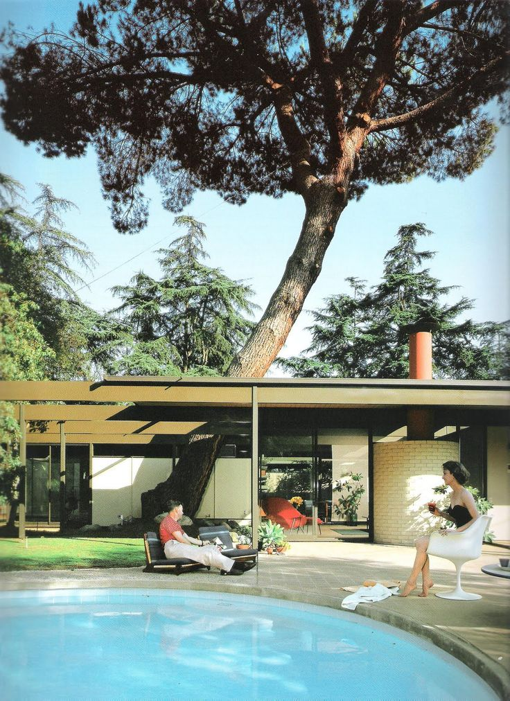 Case Study House William Wurster and Theodore Bernardi       Chalon Road   Demolished  Pinterest